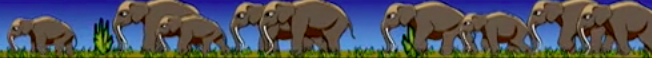 Animated Mammoths